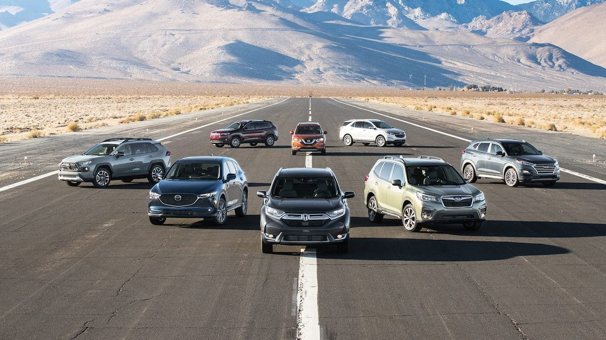 The New Normal Toyota Rav4 Vs Honda Cr V Vs Subaru Forester Vs