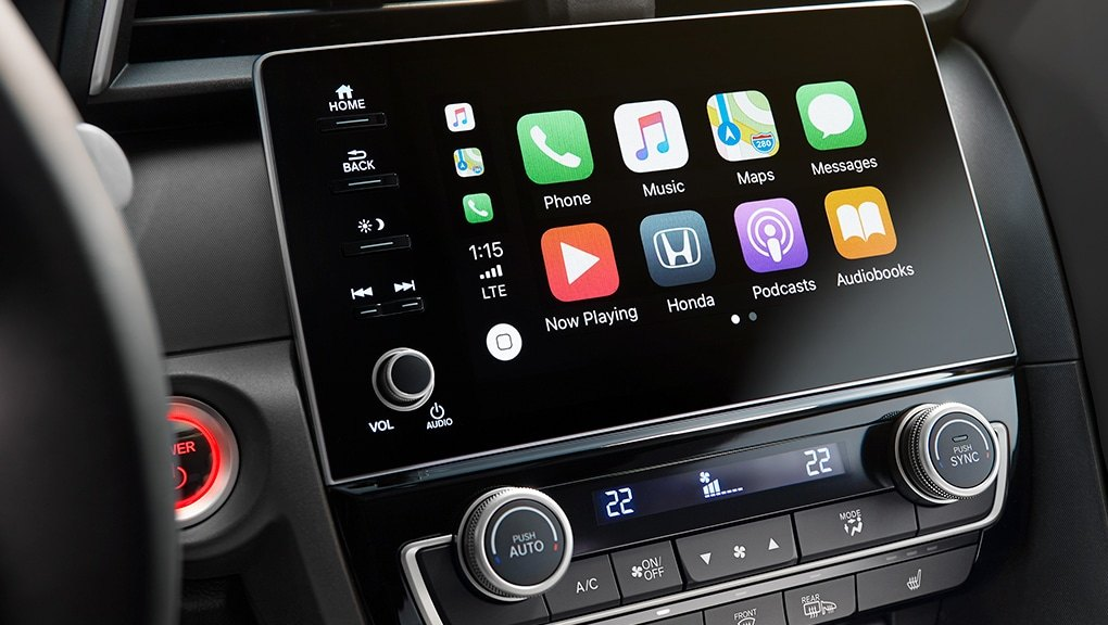 Honda Display Audio System touchscreen